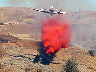 Bomber Dropping Retardant